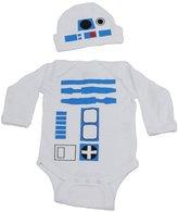 Vestys R2D2 Baby Graphic Long Sleeve Bodysuit Set (NB)