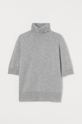 H&M Cashmere polo-neck jumper