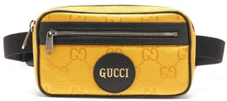 Gucci Off The Grid Gg-jacquard Canvas Belt Bag - Yellow