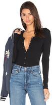 Privacy Please Peoria Bodysuit in Black. - size L (also in M,S,XL,XS)