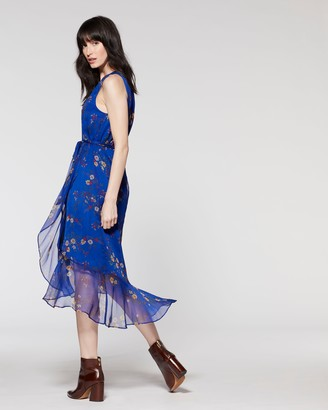 Vince Camuto Bouquet-Print Maxi Dress