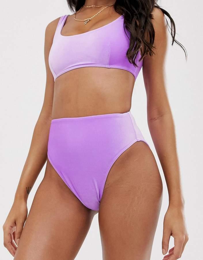 b2547b7e20d6d Velvet Bikini High Waisted - ShopStyle
