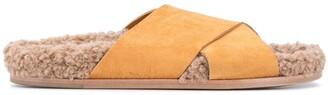 Forte Forte Faux Fur Insole Sandals