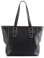 Rebecca Minkoff Midnighter Leather Stud Tote Bag