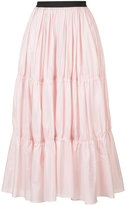 Tome long tiered skirt - women - Silk/Viscose - S