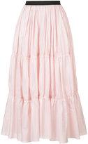 Tome long tiered skirt - women - Silk/Viscose - S