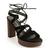 Stuart Weitzman Tie Girl Bingo - Platform Sandal