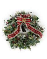Mackenzie Childs MacKenzie-Childs Highland Large Wreath