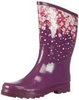 Northside Women's Adeline Rain Boot Plum/Fuchsia 9 Medium US