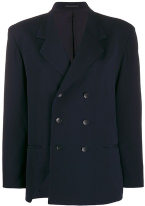 Yohji Yamamoto Pre-Owned double-breasted jacket