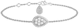 Boucheron Serpent Boheme 18K White Gold & Diamond Bracelet