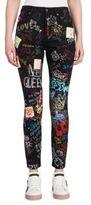 Dolce & Gabbana Graffiti Denim Jeans