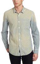 Calvin Klein Jeans Men's Jam Gingham Long Sleeve Woven Shirt