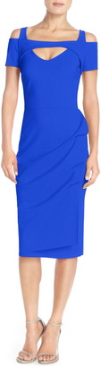 Chiara Boni 'Jodylin' Cutout Jersey Midi Dress