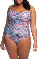La Blanca Swirlin One-Piece Swimsuit