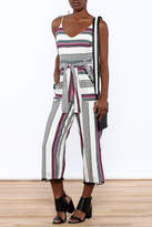 Saylor Multi Stripe Jumpsuit