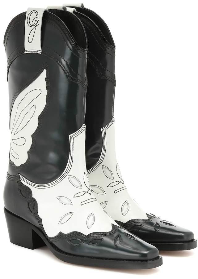 fce412ddcb8 High Texas leather cowboy boots