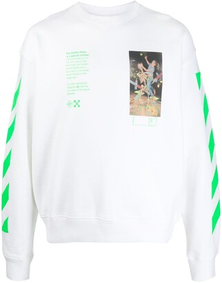 Off-White Pascal Painting print sweatshirt