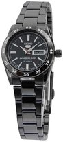 Seiko 5 Women's Sport Ebony & Black Day & Date Automatic Symg41J1 [Watch]