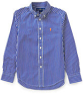 Ralph Lauren Little Boys 5-7 Striped Long-Sleeve Poplin Shirt