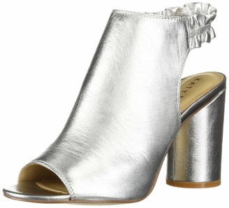 Katy Perry Women's The Jocelyn-Tumbled Metallic Heeled Sandal