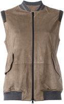 Brunello Cucinelli zipped vest