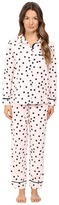 Kate Spade Packaged Flannel Pajama Set Women's Pajama Sets
