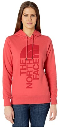 The North Face Trivert Pullover Hoodie (Vintage White) Women's Sweatshirt