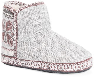 Muk Luks Leigh Faux Fur Slipper