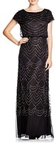 Thumbnail for your product : Adrianna Papell Beaded Blouson Gown