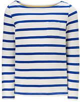John Lewis Girls' Breton Stripe T-Shirt