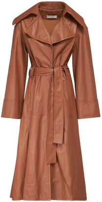 Nynne Robyn Leather Trench Coat
