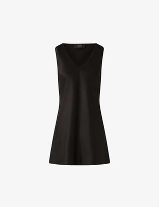 Joseph Belva V-neck silk-satin blouse