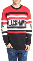 Mitchell & Ness Men's Blackhawks Open Net Pullover