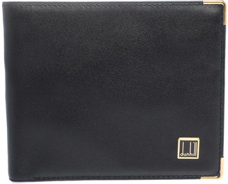 Dunhill Black Leather Bifold Wallet