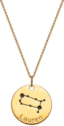 Limoges Jewelry Women's Necklaces GOLD - Gold-Plated Zodiac Sign Personalized Pendant Necklace