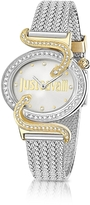 Just Cavalli Sin JC 2H Two Tone Stainless Steel Women's Watch