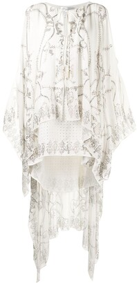 Camilla Sheer Overlay Dress