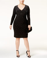 INC International Concepts Plus Size Embellished Bodycon Dress, Only at Macy's