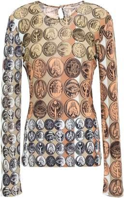 Roberto Cavalli Printed Jersey Top