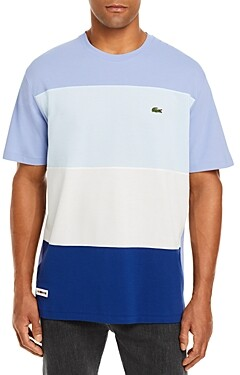 Lacoste Ice Cotton Pique Color-Blocked Tee