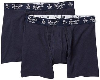 Original Penguin Assorted Box Briefs - Pack of 2