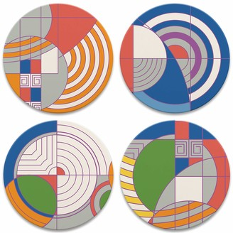 CoasterStone Frank Lloyd Wright Hoffman Rug Designs Set of 4 Coasters One Size