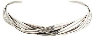 Tom Binns Woven Blade Choker Necklace