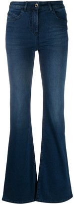 Patrizia Pepe High-Waisted Bootcut Jeans
