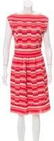Christian Dior Striped Knit Dress w/ Tags