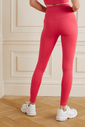 Girlfriend Collective + Net Sustain Compressive Recycled Stretch Leggings - Pink