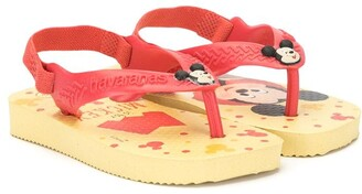 Havaianas Mickey Mouse slip-on sandals
