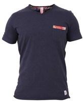 BOB Strollers Men's Blue Cotton T-shirt.