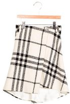 Burberry Girls' Wool Wrap Skirt